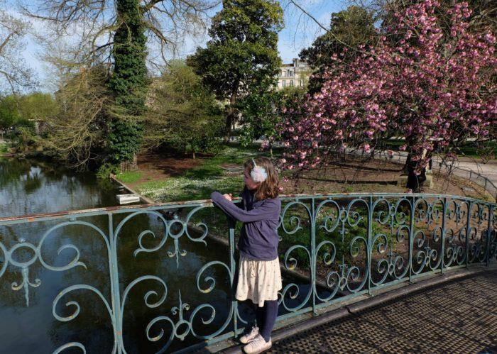 jardin public pont